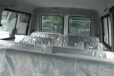 tata winger passenger cabin
