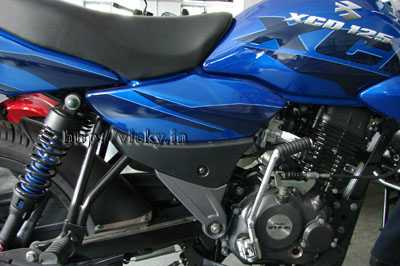 Bajaj 125cc Xcd Dts Si Pictorial Review Car And Bike Blog