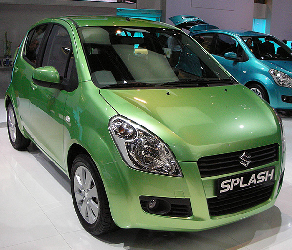 Maruti Suzuki S 2008 Small Car The Splash Car And Bike Blog