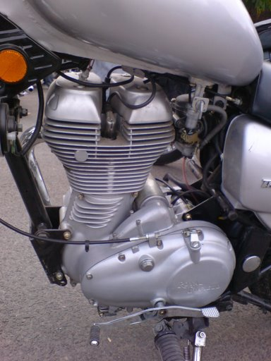 royal enfield thunderbird twinspark engine