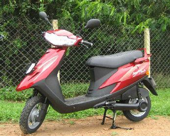 tvs scooty teenz electric