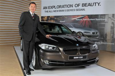 The Luxury Sedan Bmw 5 Series Launched In India Car And
