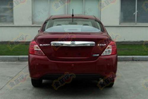 Nissan Sunny-rear spy photo