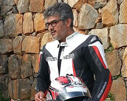 ajith-biking