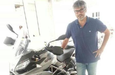 Actor Ajith adds Aprilia Caponard 1200 to his bike collection - Car