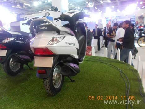 Yamaha Cygnus Alpha Images Car And Bike Blog