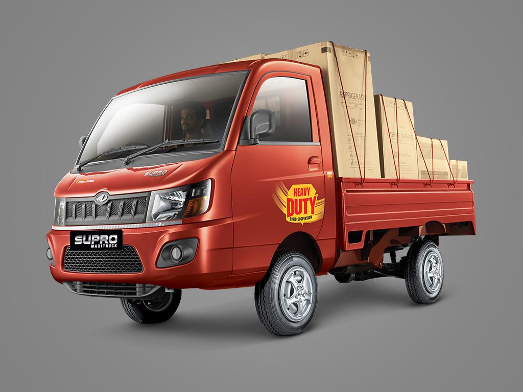 Mahindra Launches The Supro Load Heavy Duty Series Motor